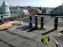 1000 m2 krov v Praze - plochá střecha