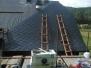 Kokořín pokládka střechy